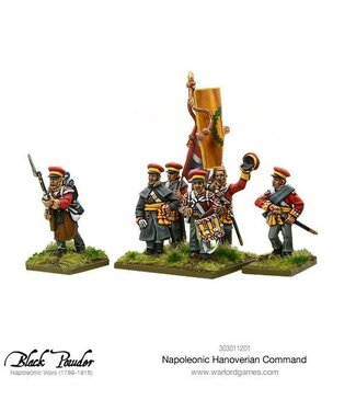 Black Powder Hanoverian command pack