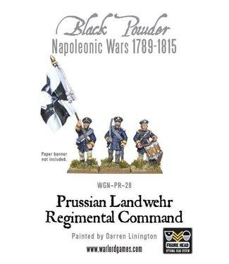 Black Powder Prussian Landwehr Regimental Command
