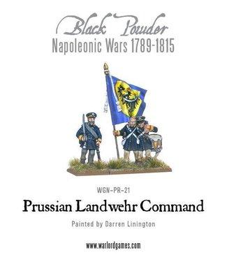Black Powder Prussian Landwehr Command 1789-1815