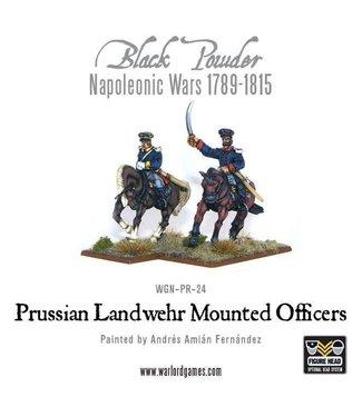 Black Powder Prussian Landwehr Mounted Officers 1789-1815