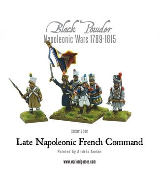 Black Powder Late Napoleonic French Command