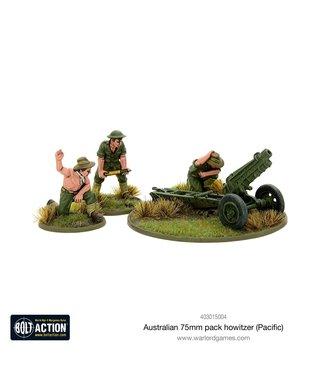 Bolt Action Australian 75mm pack howitzer (Pacific)