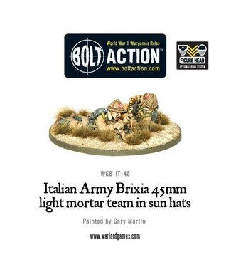 Bolt Action Italian Army Brixia Mortar