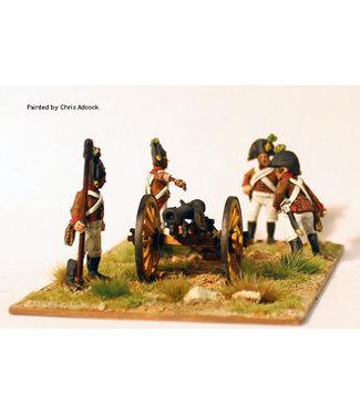Perry Miniatures Artillery firing 6pdr