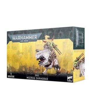 Warhammer 40.000 Mozrog Skragbad / Beastboss on Squigosaur