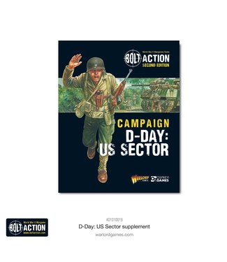 Bolt Action D-Day: The US Sector campaign book
