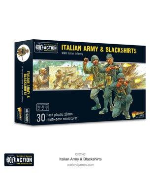 Bolt Action Pre-order: Italian Army & Blackshirts