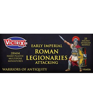 Victrix Early Imperial Roman Legionaries Attacking