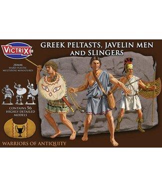 Victrix Greek Peltasts, Javelin Men and Slingers