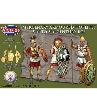 Victrix Mercenary Armoured Hoplites 5th to 3rd Century BCE