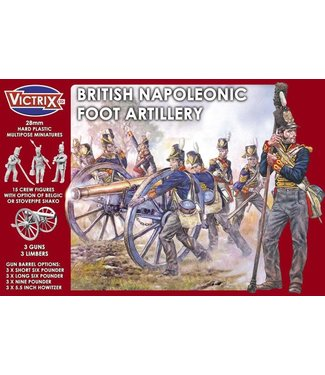 Victrix British Napleonic Foot Artillery