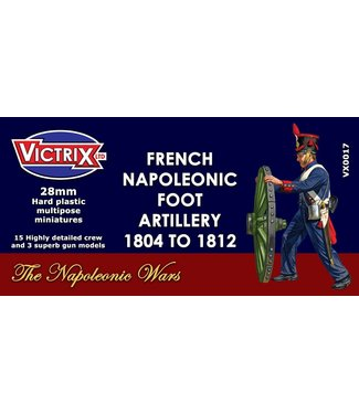 Victrix French Napoleonic Artillery 1804 to 1812
