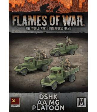 Flames of War DShK AA MG Platoon