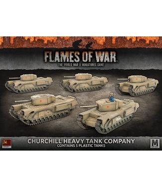 Flames of War Churchill Heavy Tank Company