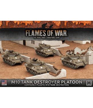 Flames of War M10 3-Inch Tank Destroyer Platoon