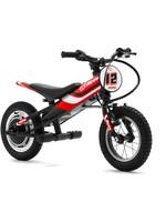 "DRC Yotsuba 12"" Electric Bike Black w Red/Blue Decal"