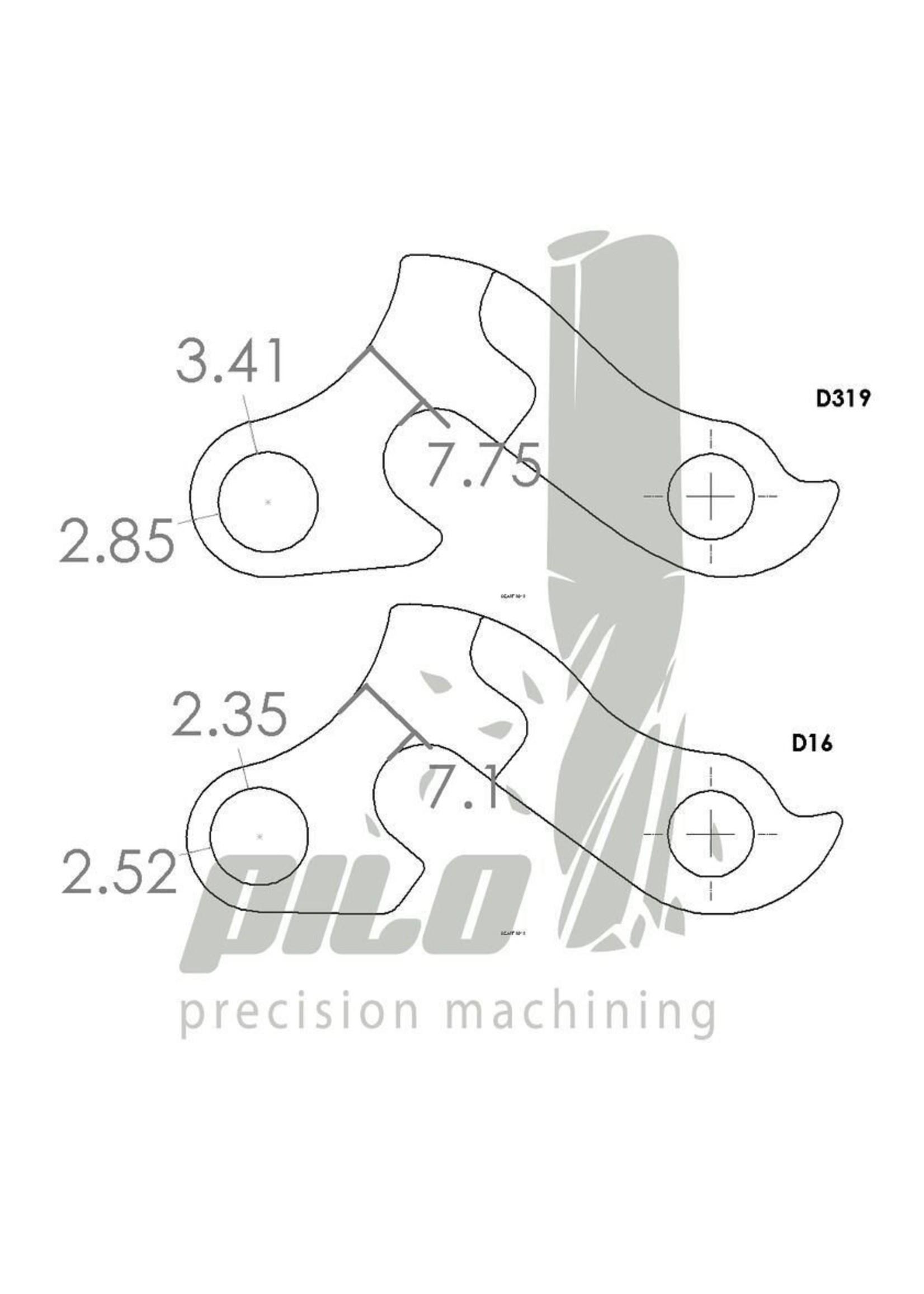 PILO D319 CNC Derailleur Hanger