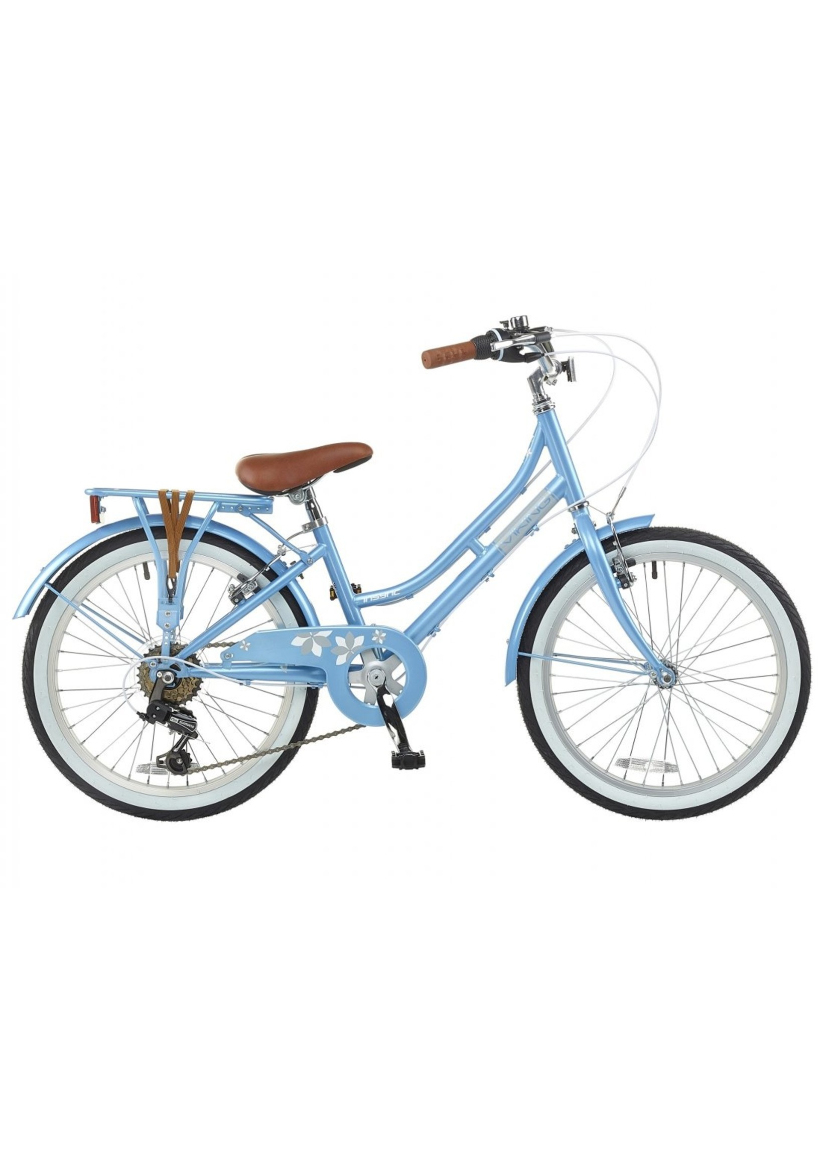 "Viking Paloma Traditional Dutch Bike 20"" Blue"
