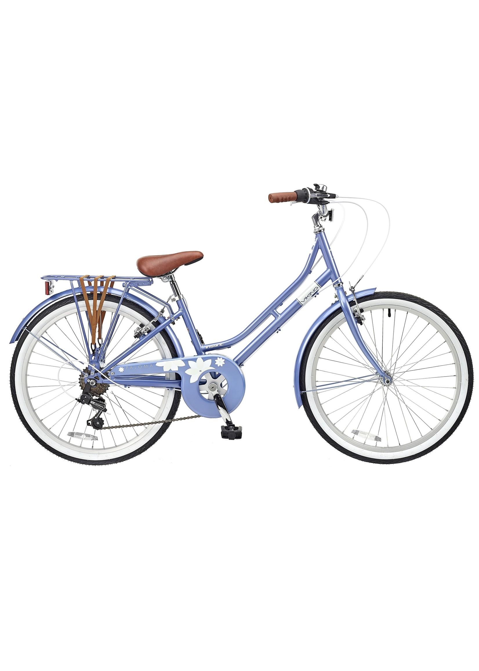 "Viking Paloma Traditional Dutch Bike 24"" Blue"