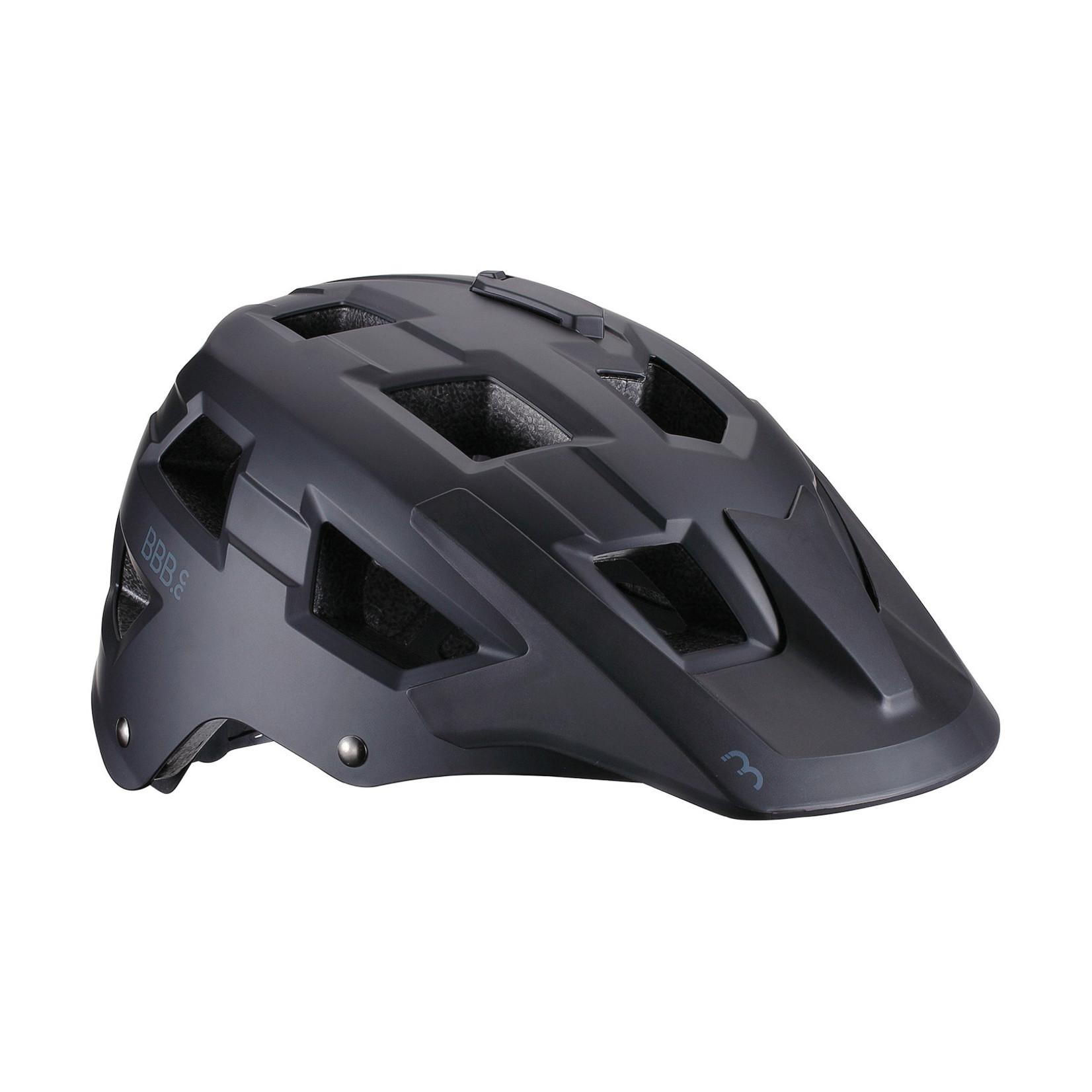 BBB Nanga 21 MTB Helmet (Matte Black, 54-58 cm)