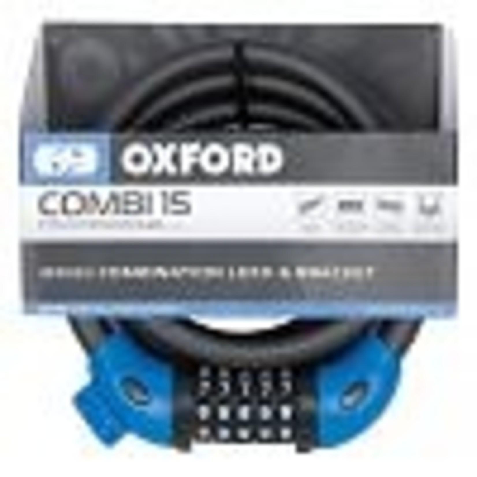 Oxford LK235 COMBI 15 Lock - 15mm x 1.5m - SMOKE