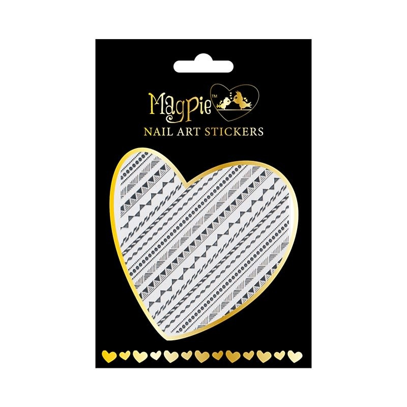 Magpie 001 Silver stickers
