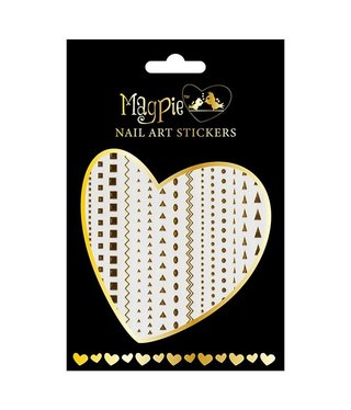 Magpie 003 Gold stickers