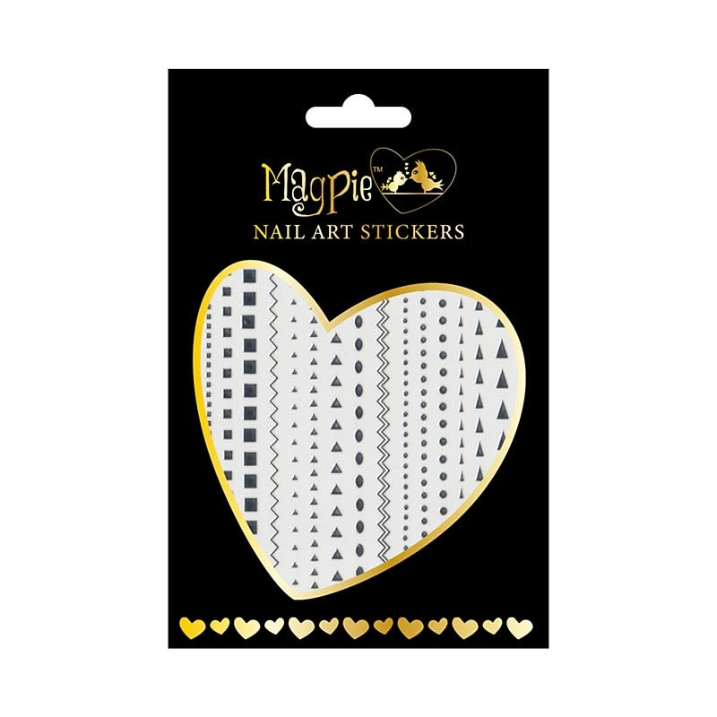 Magpie 003 Silver stickers