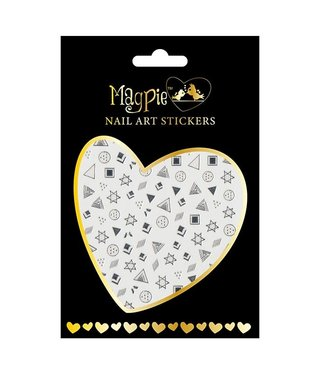 Magpie 004 Silver stickers