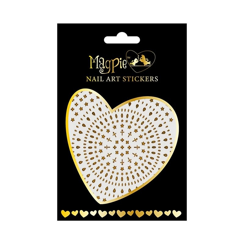 Magpie 005 Gold stickers