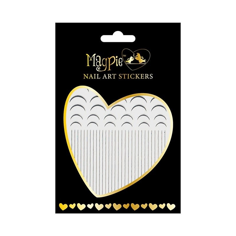 Magpie 006 Silver stickers