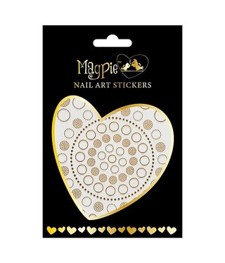 Magpie 009 Gold stickers