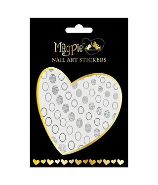 Magpie 010 Silver stickers