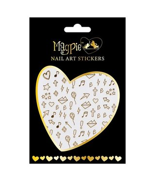 Magpie 012 Gold stickers