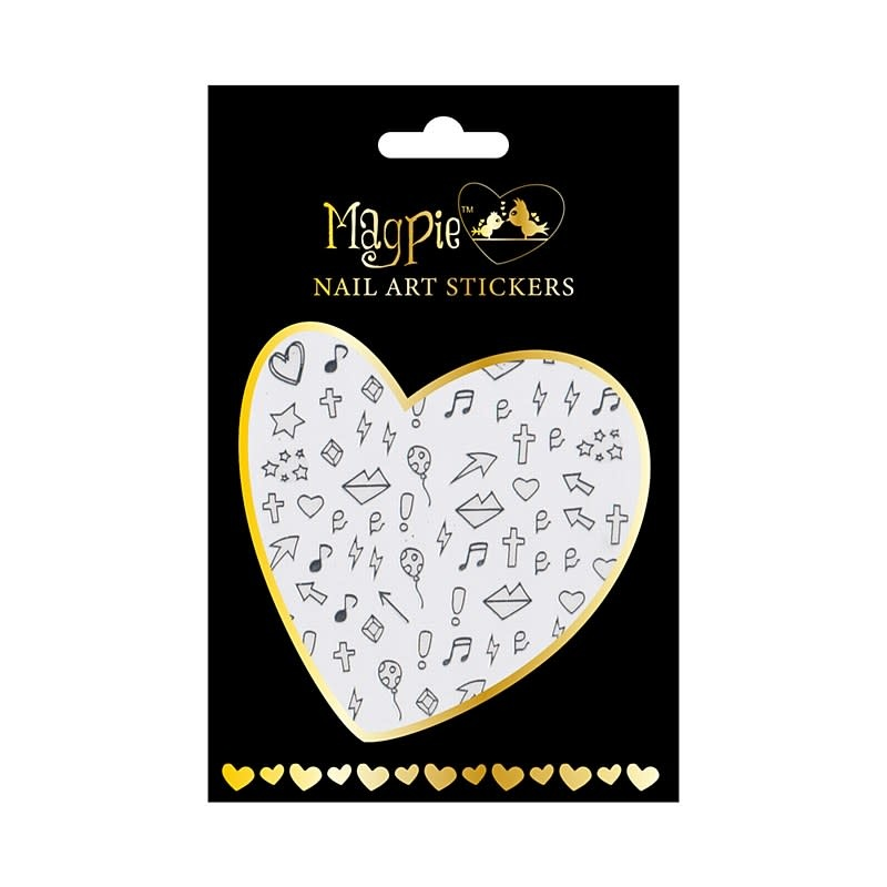 Magpie 012 Silver stickers