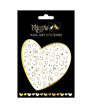 Magpie 015 Gold stickers