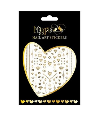 Magpie 017 Gold stickers
