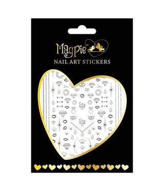 Magpie 017 Silver stickers
