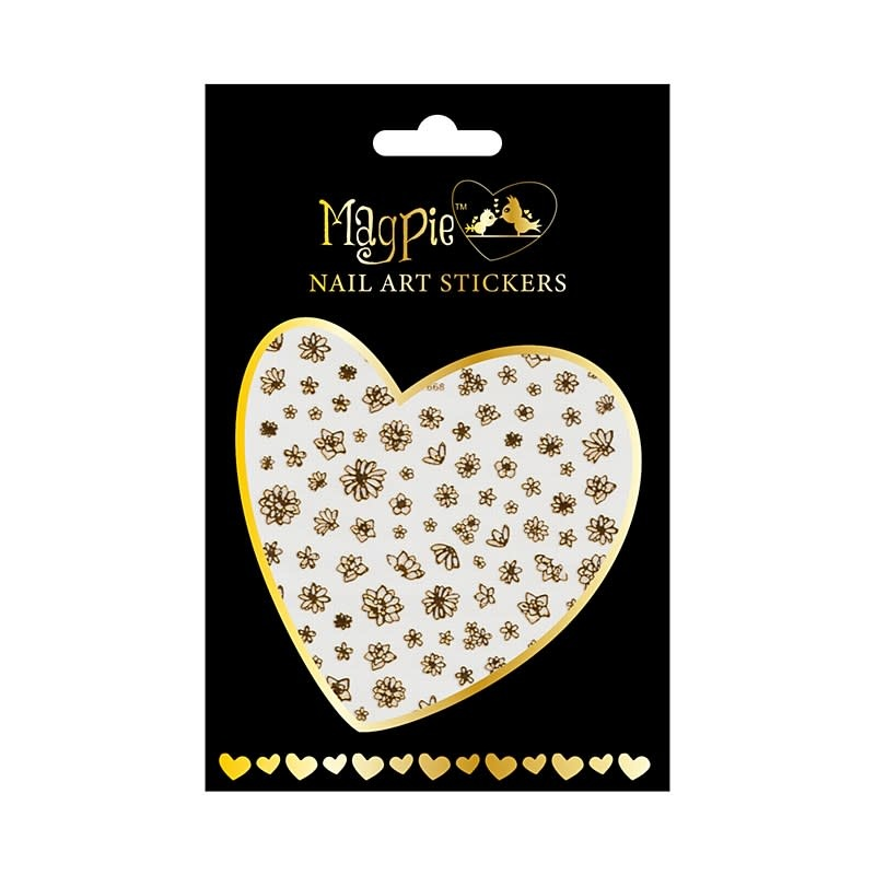 Magpie 018 Gold stickers
