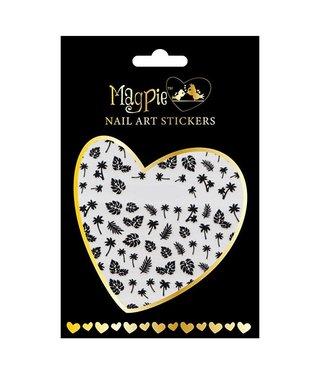 Magpie 020 Black stickers