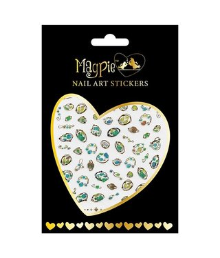 Magpie 022 Gold stickers