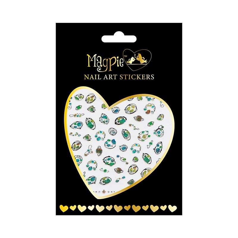 Magpie 022 Silver stickers