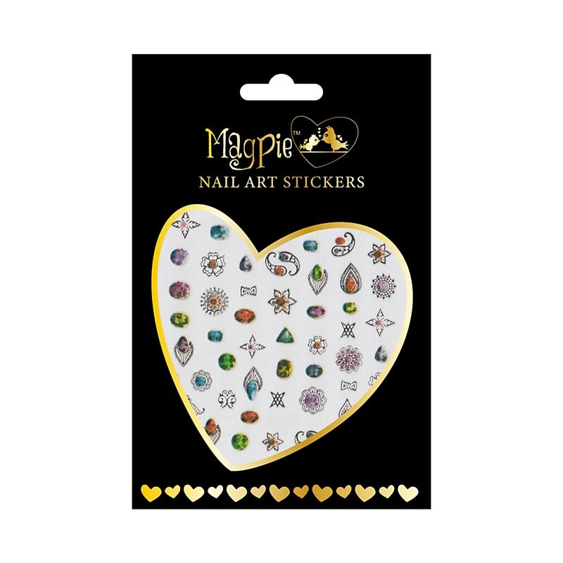 Magpie 025 Silver stickers