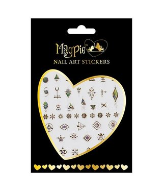 Magpie 026 Gold stickers