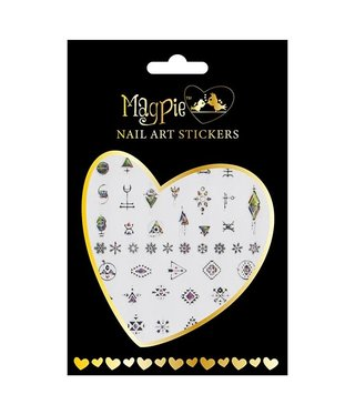 Magpie 026 Silver stickers
