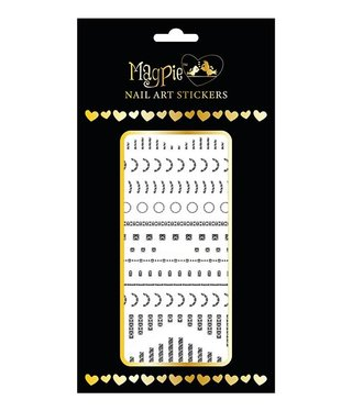 Magpie 043 Silver stickers