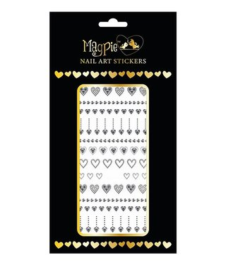 Magpie 047 Silver stickers