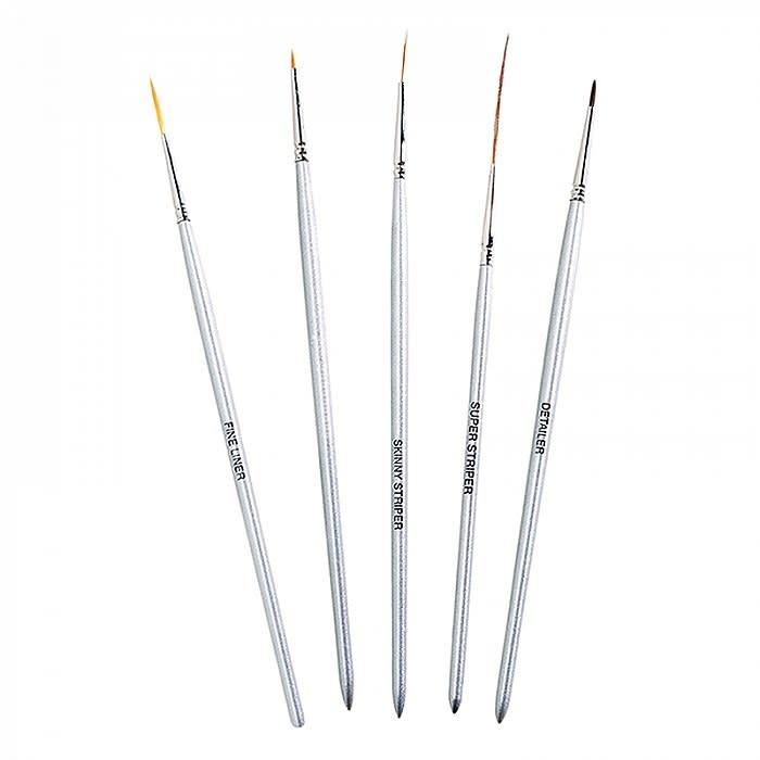 NSI 5 Pack Nail Art Brushes