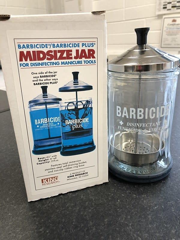 NSI Barbicide Medium Manicure Jar
