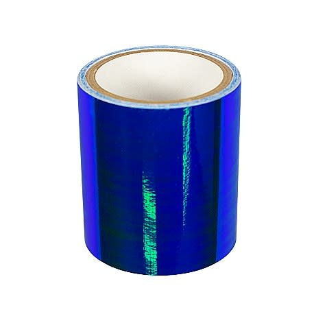 Blue Iridescent Mirror